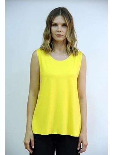 OPTİQUE Bluz Sarı